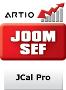 JCal Pro JoomSEF 2 Extension
