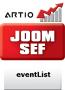 EventList JoomSEF 3 Extension