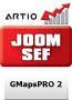 GMapsPRO 2 JoomSEF 3 Extension