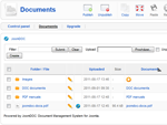 Organizing documents in Backend