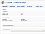 Upgrading JoomSEF - step 2